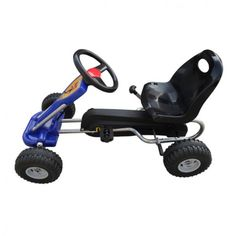 Kids Pedal Go Kart Christmas Toys Grandchildren Ride Toys Blue Racing Boys Outdo in Toys & Games, Outdoor Toys & Activities, Ride-on Cars | eBay!