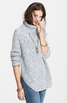 Free People Turtleneck Pullover.  Free People Brand available at Stella's Trunk www.facebook.com/stellastrunkpage
