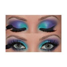 mermaid makeup | Tumblr