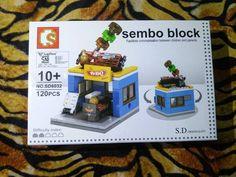 "Sembo Block ""BBQ""  IDR -> 45k  Sms/Wa -> 085743005787 Alamat -> Magelang Jawa tengah . (Stok 2pcs) . . #brick #instabrick #bricks #brickgram #legogram #instalego #lego #legos #legoindonesia #jualbrick #jualbrickmurah #brickmurah #legomurah #toysgram #toysmgl #magelang #instatoys #sembo #jualsembo #semboblock #semboblockindonesia#jualmainan #mainanmurah #jualan #dijual"