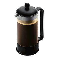 Bodum Brazil French Press Coffee Maker, 8 cup, Black