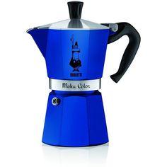 Bialetti Moka Color Stovetop 6 Cup Espresso Maker