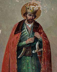 Georgian King Luarsab ll of Kartli in a Chokha.