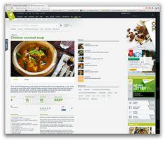 Chicken Coconut Soup, Fresh Chicken, Images Gif, Chicken Recipes, Remedies, Food, Home Remedies, Essen, Meals