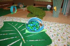 """Photo 22 of 57: Frogs, Snails and Puppy Dog Tails / Birthday """"Tucker is ONE!""""   Catch My Party"""