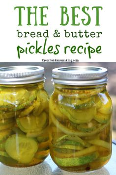 Homemade Bread And Butter Pickles Recipe, Bread N Butter Pickle Recipe, Bread & Butter Pickles, Canning Soup Recipes, Pressure Canning Recipes, Cooking Recipes, Canned Meat, Canned Food Storage, Canned Foods