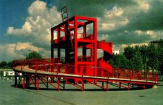 Parc de la Villette Paris by Tschumi