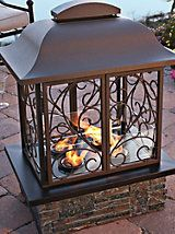 Taos Gel Fireplace - Outdoor Fireplace - Patio Firepit | Solutions