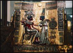 Minhas fotos do Cairo - Egito... Mercados, mesquitas, tesouros e o Nilo! - Tutankhamun e sua esposa.
