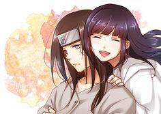 Neji e Hinata Naruto Uzumaki, Anime Naruto, Hinata Hyuga, Naruhina, Comic Naruto, Neji E Tenten, Naruto Fan Art, Naruto Girls, Naruto And Sasuke