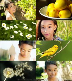 If the Months had Faces - May by ~checkers007 on deviantART - Amandla Stenberg