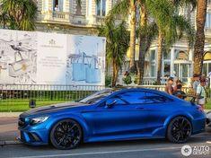 Mercedes Benz Inspiration : 5 i Mercedes-Benz Mansory S 63 AMG Coupé Diamond Edition 5…