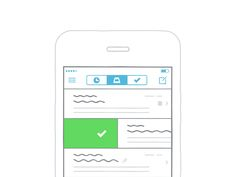 Mailbox by Justin Pervorse // #UX #Mobile
