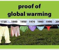 Hehehehe Proof of global warming!