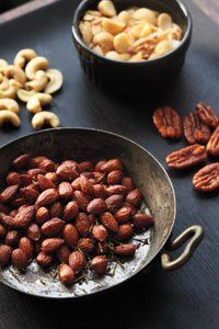 With lots of varieties, slowly roasted and well seasoned, the flavor will make you go nuts! Small-batch roasted nuts from Oren's Kitchen. http://orenskitchen.com/collections/buy-artisan-nuts