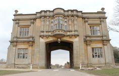 Harlaxton Manor Arch | by high-flying-bird