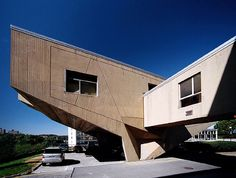 Marcel Breuer's Bergrisch Hall at Bronx Community College, 1964.  Photo by Hagen Stier, via Flickr