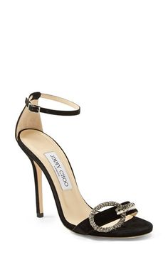 Jimmy Choo 'Tamsyn' Suede Sandal (Women) available at #Nordstrom