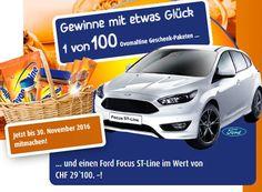 Gewinne mit Ovomaltine einen Ford Focus ST-Line im Wert von 29'100.-!  Dazu gibt es 1 von 100 Ovo Geschenk-Paketen zu gewinnen mit den Produkten die du dir wünschst.  Gewinne hier ein neues Auto: http://www.gratis-schweiz.chgewinne-einen-ford-focus-st-line  Alle Wettbewerbe: http://www.gratis-schweiz.ch