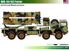 MIM-104 (GE) Patriot (Air Defence Missile Launcher)