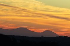Ancona, Marche, Italy - Sunset in Sept.