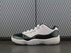 fff24897aa2084 NIKE AIR GORDON XI RETRO 11 LOW EMERALD GREEN EASTER 528895-145