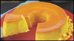 Receita de Sobremesa : Pudim de Milho Verde Cremoso - Fácil