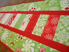 Hey, I found this really awesome Etsy listing at https://www.etsy.com/listing/206059243/handmade-modern-quilted-christmas-table