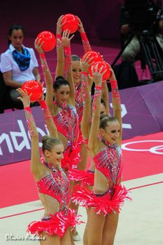 Italian Rhythmic Gymnastics Team - London Olympics 2012