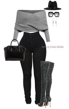 Stylish outfit idea to copy ♥ For more inspiration join our group Amazing Things ♥ You might also like these related products: - Sandals ->. Cute Swag Outfits, Komplette Outfits, Winter Fashion Outfits, Classy Outfits, Look Fashion, Stylish Outfits, Fall Outfits, Womens Fashion, Fashion Night