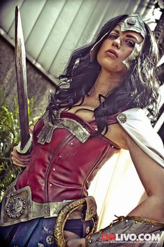 Warrior Wonder Woman! Click the image to see more.