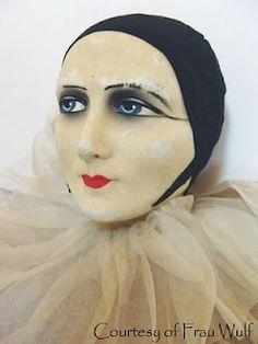 French Pierrot head