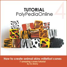 PolyPediaOnline - Polymer Clay Millefiori CanesTutorials - PolyPediaOnline Products