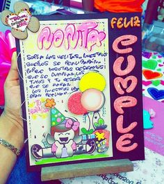 Feliz cumpleaños Birthday Cards, Happy Birthday, My Boo, School Projects, Boyfriend Gifts, Ideas Para, Gift Tags, Diy And Crafts, Mandala