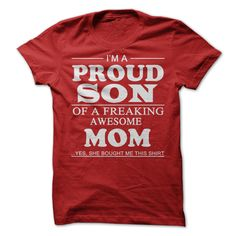 PROUD SON T-Shirts, Hoodies. Get It Now ==>…