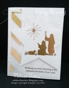 Stampin' Up! Every Blessing by Melissa Davies @rubberfunatics #rubberfunatics #stampinup #controlfreaks