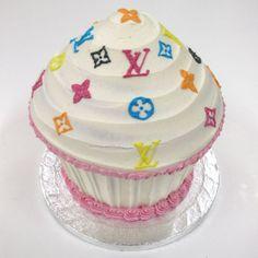 Louis Vuitton #cupcake