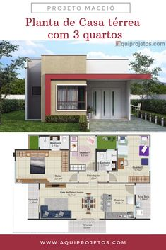 My House Plans, House Layout Plans, Modern House Plans, Small House Plans, House Layouts, Home Building Design, Home Design Plans, Building A House, Modern Small House Design