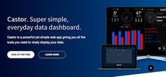 #Productividad #Castor #dashboard Castor, excelente dashboard para consultar todo tipo de widgets desde la web