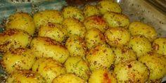 Roasted potatoes - Little Chef Bosnian Recipes, Croatian Recipes, Great Recipes, Favorite Recipes, Macedonian Food, Kolaci I Torte, Torte Recepti, Good Food, Yummy Food
