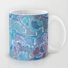 Fractal and Checkered Mug
