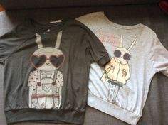 Fifi Lapin tops from Forever 21. Size small.  Both worn one or two times.  Excellent condition. $16 shipped in U.S.
