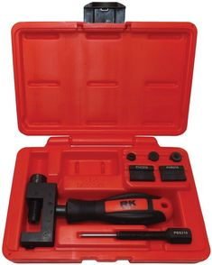 RK UCT 4060 Universal Chain Breaker, Cutter, Press-Fit and Rivet Tool Kit Quickly and easily breaks 40 and 50 type chain. Truck Accessories, Accessories Store, Motorcycle Types, Tool Steel, Tool Kit, Tools, Chain, Racing, Ebay