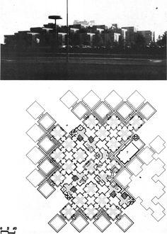 HERMAN HERTZBERGER - ADMINISTRATION BUILDING 'CENTRAAL BEHEER' IN APELDOORN, 1970-72