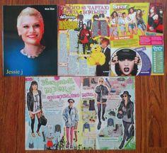 JESSIE J - Jessica Ellen Cornish mini poster, clippings | eBay