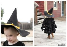Make a Witch Hat in Any Size TUTORIAL - delia creates