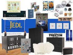 My Star Wars nursery design idea board version 1 :)