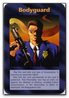 Bodyguard. Illuminati: New World Order (INWO) is a collectible card game (CCG) that was released in 1995[1] by Steve Jackson Games, based on their original boxed game Illuminati, which in turn was inspired by The Illuminatus! Trilogy. INWO won the Origins Award for Best Card Game in 1997.