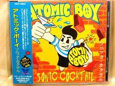 CD/Japan- ATOMIC BOY Sonic Cocktail +1 bonus trk w/OBI RARE 1995 VICP-5650 #PunkRockPunkPop