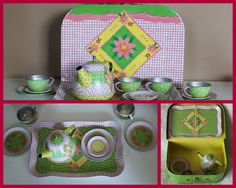 Tea Set & Jewelry Box from Schylling Toys Giveaway!